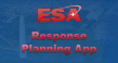ESA Reponse Planning App with DC in background