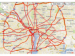 map view of DC's GIS Evacuation Route Lookup
